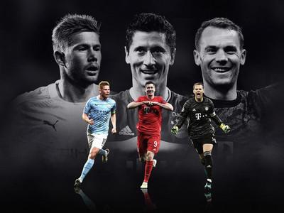 UEFA define sus candidatos al mejor jugador del año 2019/20