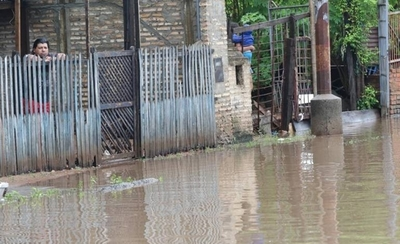 HOY / Asunción bajo agua tras lluvias