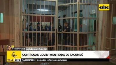 Controlan COVID-19 en el penal de Tacumbú