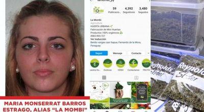 Marihuana VIP: La Mombi, una emprendedora de huertas, entre los jóvenes detenidos