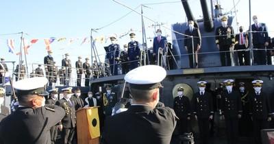 La Nación / Conmemoran a la Armada Paraguaya en su día, adaptada para combatir al COVID-19