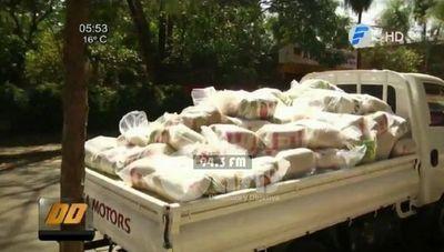 Más de 100 toneladas de alimentos para las comunidades que rechazaron al EPP
