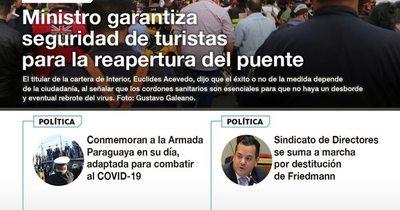 La Nación / LN PM: Las noticias más relevantes de la siesta del 23 de setiembre