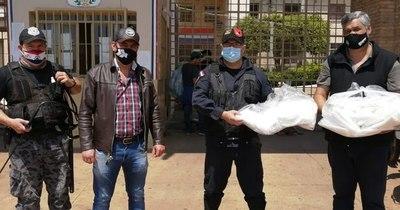 La Nación / Penal de Concepción recibió equipos de bioseguridad y tapabocas