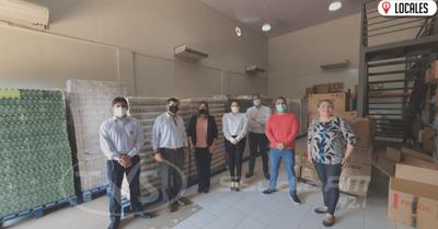 Indufar entregó importante lote de medicamentos a la VII Región Sanitaria