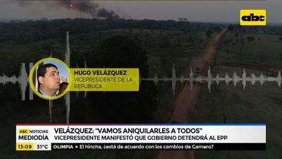 "Velázquez sobre el EPP: ""Vamos a aniquilarles a todos"""