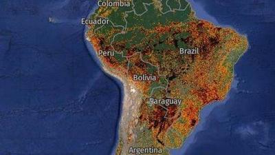 Incendios en América Latina: la catástrofe que está afectando a gran parte del continente americano – Prensa 5