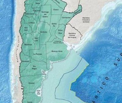 Así es el nuevo mapa de Argentina validado por la ONU