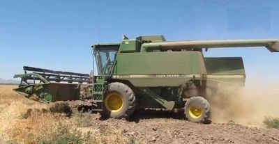Agricultor itapuense muere aplastado bajo las ruedas de su propia cosechadora