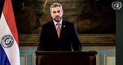 """Mario Abdo """"condena enérgicamente"""" el terrorismo y grupos criminales que utilizan niños y adolescentes"""