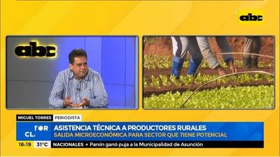 En qué consiste la asistencia técnica a productores agrícolas