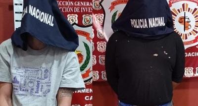 Detienen a presuntos autores de robo en Radio Caaguazú