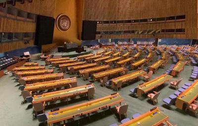 Presidente Abdo Benítez condenó los grupos criminales ante Asamblea General de la ONU