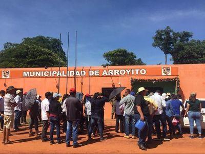 Pobladores de Arroyito no descartan tomar nuevamente municipio