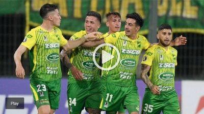 Defensa y Justicia derrotó a Olimpia en un duelo clave en la Copa Libertadores