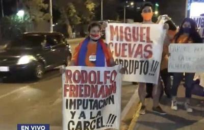 Ciudadanos piden pérdida de investidura de Friedmann y Cuevas