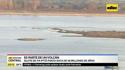 Islote de Ita Pytã Punta es parte de un volcán