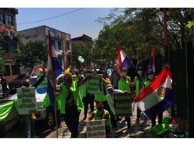 Ciudadanos reclaman el  actuar del Ministerio Público
