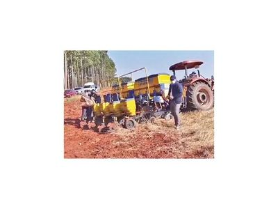 Sector privado lanza siembra de soja
