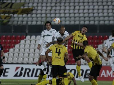 Guaraní y Palmeiras igualaron sin goles en el Defensores