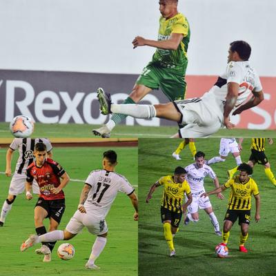 Empate y derrotas de equipos paraguayos por Copa Libertadores