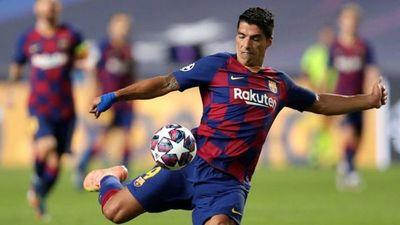 Suárez le dijo adiós al Barcelona para ir junto al Cholo