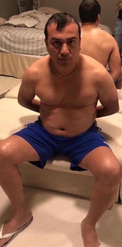 """Tras 9 años prófugo, capturan a cuñado de """"Toma'i"""" en el balneario Camboriú"""