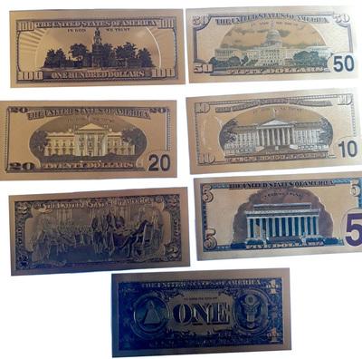 Requisan placas de billetes de dólares que podrían ser utilizadas para falsificación
