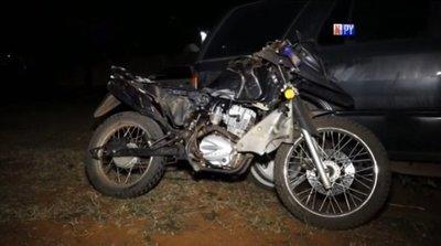 Presunto motochorro sufrió accidente de transito tras cometer atraco