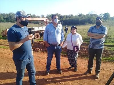 Caazapá: Realizan construcción de pozo artesiano en Boquerón