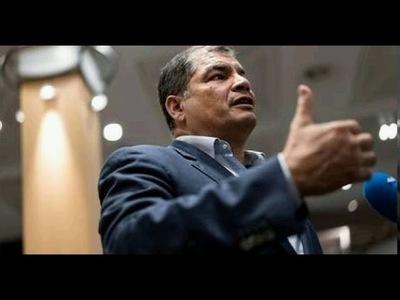 La Justicia ecuatoriana ordena la inmediata localización y captura de Rafael Correa