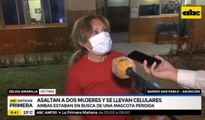 Búsqueda de mascota termina en asalto en barrio San Pablo