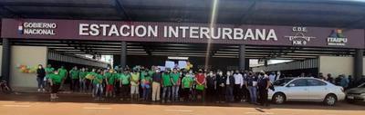 Pequeños comerciantes recibieron casillas en nueva Estación Interurbana