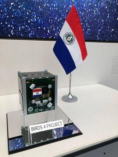 Fue presentado el primer satélite paraguayo