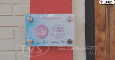 Posadas turísticas de Cambyretá reciben placas de Sello de Calidad