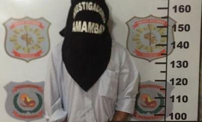Detienen a abogado acusado de abuso sexual en niños en Pedro Juan Caballero