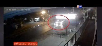 Maniobra temeraria ocasiona accidente fatal en Luque