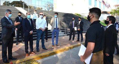 Senad presenta proyecto de ley del Agente Especial Antidrogas