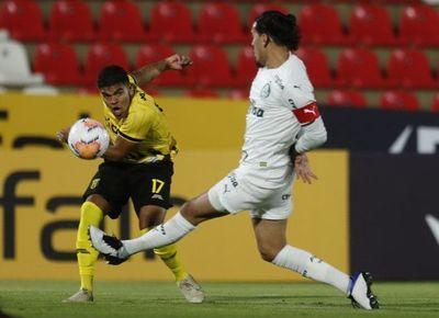 Guaraní no logró transformar en victoria su buen juego ante Palmeiras