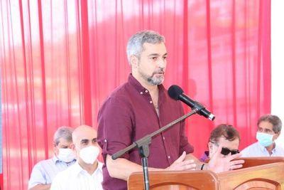"""Mario Abdo pide a la ciudadanía """"exigir más pero no dejarse manipular"""""""