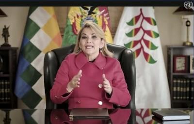 """La presidenta de Bolivia denunció un """"acoso sistemático y abusivo"""" del gobierno argentino"""