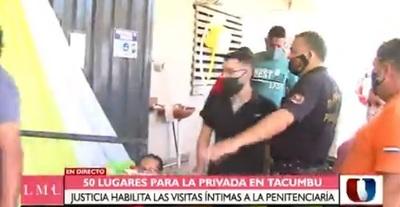 Habilitan privadas en Tacumbú para visitas íntimas