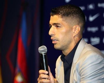 Luis Suárez, orgulloso de la huella que deja en Barcelona