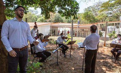 Concierto en el INERAM: La música que alivia en los momentos difíciles