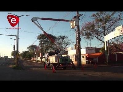 ANDE CULMINA TRABAJOS DE MANTENIMIENTO EN LINEAS DE TRANSMISIÓN