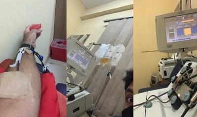 Paciente que superó el covid y donó plasma lamenta poca cantidad de recuperados donadores de la vital sustancia