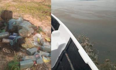 Denuncian contaminación en el Lago Yguazú – Prensa 5