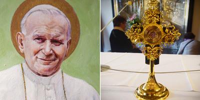 Roban en Italia una reliquia de san Juan Pablo II