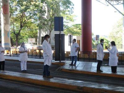 Círculo Paraguayo de Médicos se solidariza con sus colegas del Este