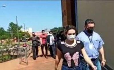Otorgan medida a Claudia Echeguren imputada por la muerte de la brasileña Sheiza Ayala